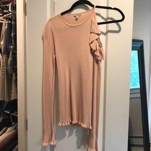 Guess light pink sweater